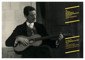 Ciclo Música Centro José Guerro